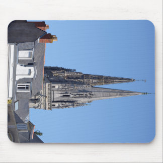 Cathedral Saint Maurice at Angers in France Mouse Pad