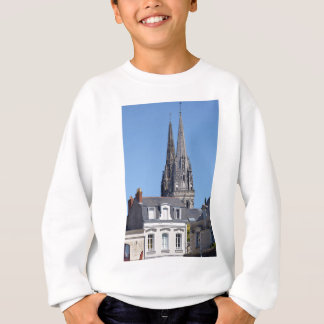 Cathedral Saint Maurice at Angers in France Sweatshirt