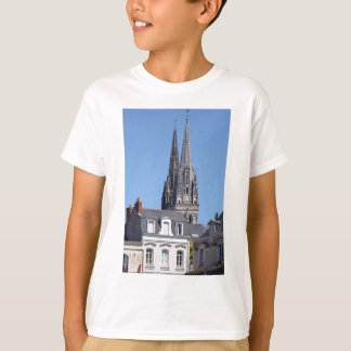 Cathedral Saint Maurice at Angers in France T-Shirt