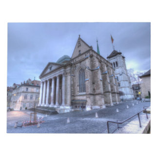 Cathedral Saint-Pierre, Peter, Geneva,Switzerland Notepad