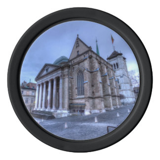 Cathedral Saint-Pierre, Peter, Geneva,Switzerland Poker Chips