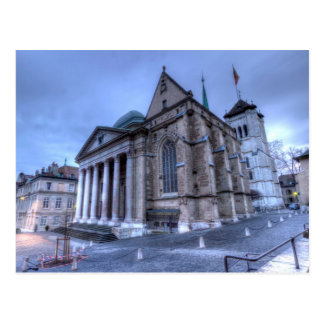 Cathedral Saint-Pierre, Peter, Geneva,Switzerland Postcard