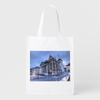 Cathedral Saint-Pierre, Peter, Geneva,Switzerland Reusable Grocery Bag
