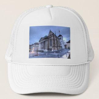 Cathedral Saint-Pierre, Peter, Geneva,Switzerland Trucker Hat