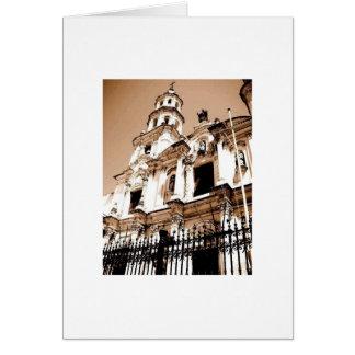 Cathedral, San Telmo Card