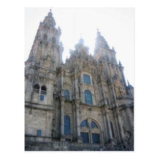Cathedral Santiago de Compostela Postcard