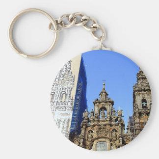 Cathedral, Santiago de Compostela, Spain Keychain