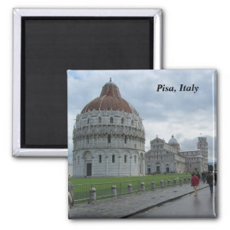 Cathedral Square in Pisa, Italy Magnet