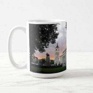 Cathedral Square in Vilnius, LITHUANIA --- Coffee Mug