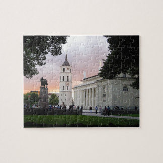 Cathedral Square in Vilnius, LITHUANIA --- Puzzle