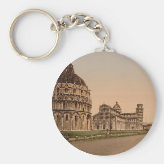 Cathedral Square, Pisa, Tuscany, Italy Keychain