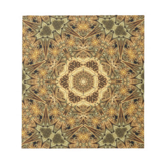 Cathedral Star Mandala Notepad