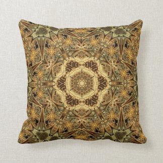 Cathedral Star Mandala Throw Pillow
