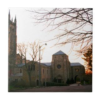 Cathedral Sunset Ceramic Tile
