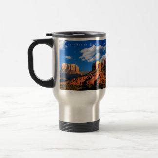 Cathedral Valley Deep Blue Sedona Travel Mug