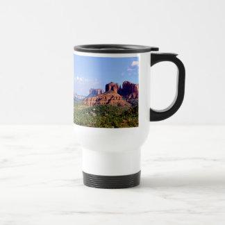 Cathedral Valley Sky Sedona Travel Mug