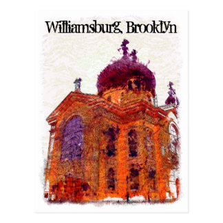 Cathedral, Williamsburg, Brooklyn Postcard