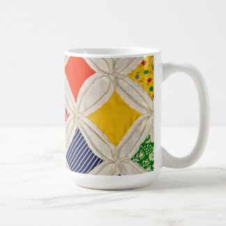 Cathedral Window Quilt design Coffee Mug