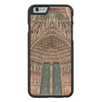 Cathedrale Notre-Dame, Strasbourg, France Carved Maple iPhone 6 Case