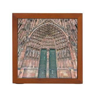 Cathedrale Notre-Dame, Strasbourg, France Desk Organizer
