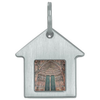 Cathedrale Notre-Dame, Strasbourg, France Pet Name Tag