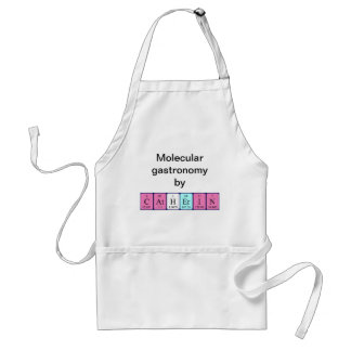 Catherin periodic table name apron