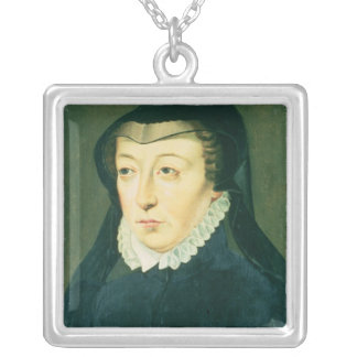 Catherine de Medici Silver Plated Necklace