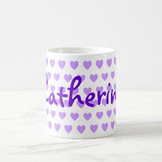 Catherine in Purple Coffee Mug
