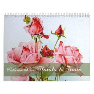 Catherine Klein Floral & Fruit Custom Calendar