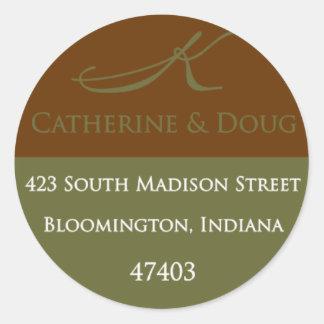 Catherine Mailing Sticker3 Round Sticker