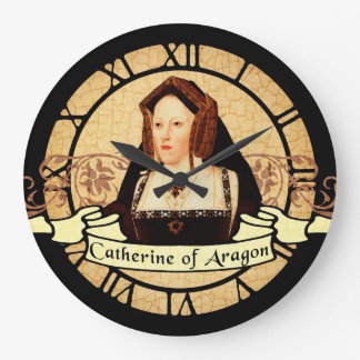 Catherine Of Aragon Large Clock