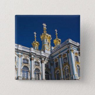 Catherine Palace Chapel detail 2 Inch Square Button