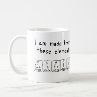 Catherine periodic table name mug