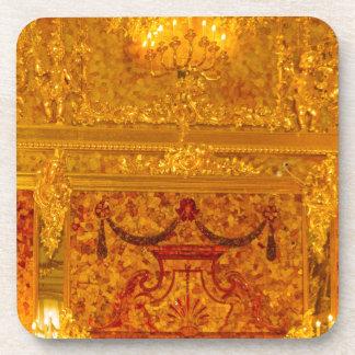 Catherine's Great Palace Tsarskoye Selo Amber Room Coaster