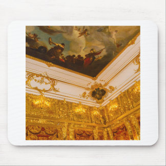 Catherine's Great Palace Tsarskoye Selo Amber Room Mouse Pad