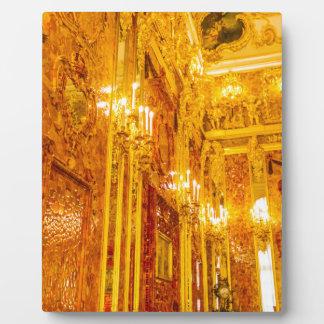 Catherine's Great Palace Tsarskoye Selo Amber Room Plaque