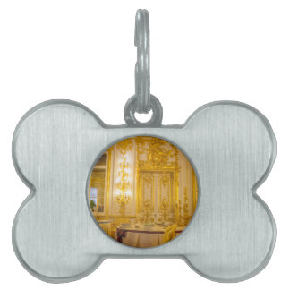Catherine's Great Palace Tsarskoye Selo Ball Room Pet Name Tag