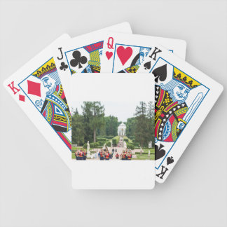 Catherine's Great Palace Tsarskoye Selo Bicycle Playing Cards
