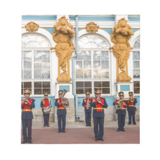 Catherine's Great Palace Tsarskoye Selo Brass Band Notepad