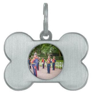 Catherine's Great Palace Tsarskoye Selo Brass Band Pet Tag