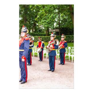 Catherine's Great Palace Tsarskoye Selo Brass Band Stationery
