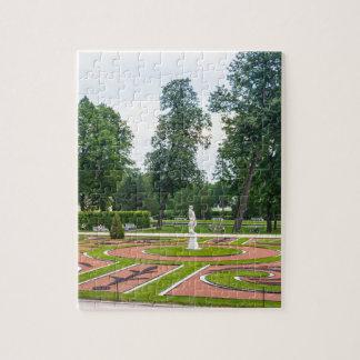 Catherine's Great Palace Tsarskoye Selo Gardens Jigsaw Puzzle