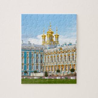 Catherine's Great Palace Tsarskoye Selo Jigsaw Puzzle