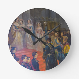 Catherine's Great Palace Tsarskoye Selo Painting Clocks
