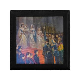 Catherine's Great Palace Tsarskoye Selo Painting Gift Boxes