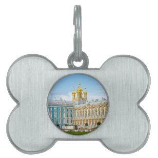 Catherine's Great Palace Tsarskoye Selo Pet Tag