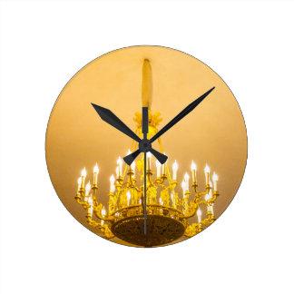Catherine's Great Palace Tsarskoye Selo Round Clock