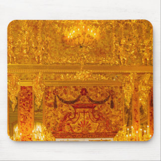 Catherine the Great's Summer Palace Amber Room Mouse Pad