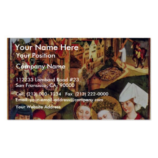 Catherine'S Altar Right Wing: The Discovery Business Card Template