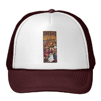 Catherine'S Altar Right Wing: The Discovery Trucker Hats